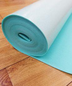Acoustalay 250 Wood Flooring 3mm Adhesive Foam Underlay 10m² Roll