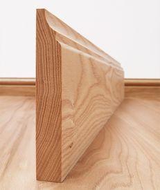 Scotia Solid Ash Skirting Board