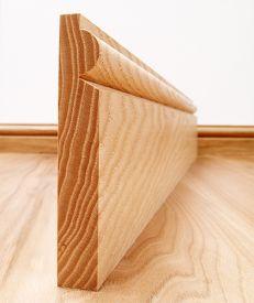 Torus Solid Ash Skirting Board