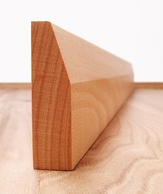 Solid Beech Chamfered Architrave Set