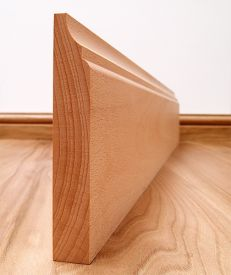 Scotia Solid Beech Skirting Board