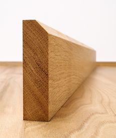 45° Chamfered European Oak Stock Architrave Set