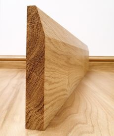 Fast Delivery Chamfered European Oak Skirting Board