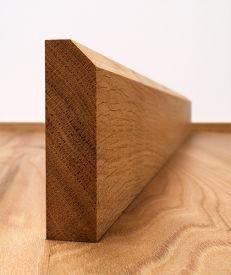 45° Chamfered Fumed Dark Oak Architrave