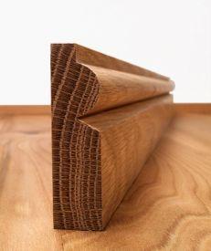 Fumed Dark Oak Torus Architrave Set