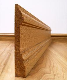 Fumed Dark Oak New England Skirting Board