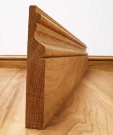 Fumed Dark Oak Victoriana Skirting Board