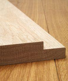 Internal Solid Oak Door Lining Set with Rebate