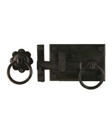 Hand Forged Cottage Latch Set