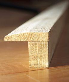 Solid Hardwood Low Profile Floor Beading