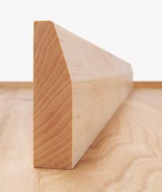 Solid Maple Chamfered Architrave Set