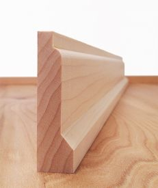 Solid Maple Lambs Tongue Architrave Set