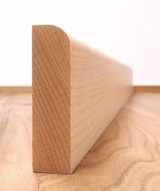 Solid Maple Round Edge Architrave Set