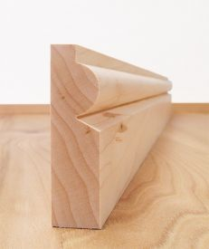 Solid Maple Torus Architrave Set
