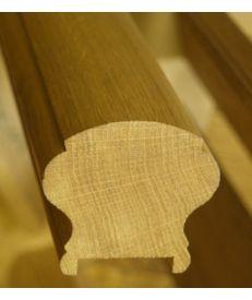 European Oak Victorian Handrail