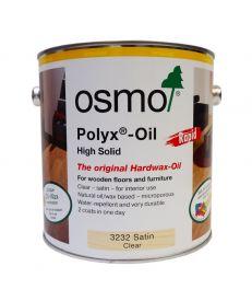 Osmo Polyx Hardwax Oil Rapid 3232 Satin Clear 2.5L