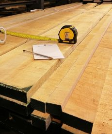 Sawn Prime Canadian Maple (per cubic foot)