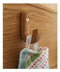 Solid Oak Small Hook