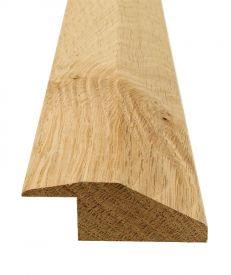 Solid Hardwood D Bar Door Threshold