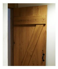 Internal Solid Oak Door Farmhouse Kit