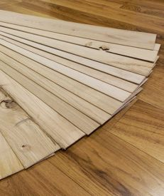 Thin Wood European Oak Lamella Packs