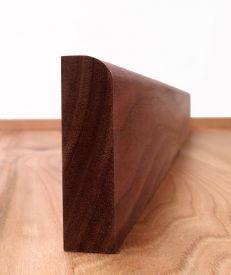 Solid Walnut Round Edge Architrave Set