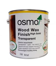 Osmo Wood Wax Finish 3166 Walnut 2.5L
