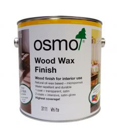 Osmo Wood Wax Finish 3111 White 2.5L