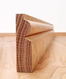 Solid American Oak Torus Architrave Set