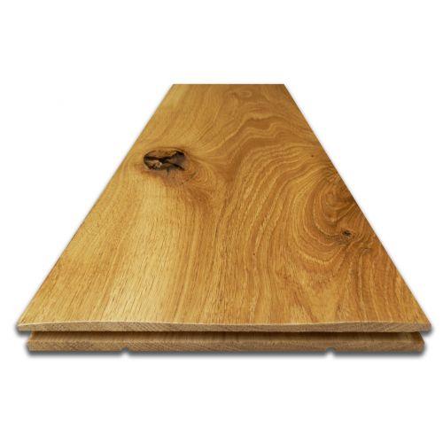 Antique Wave Oak Flooring - Sample