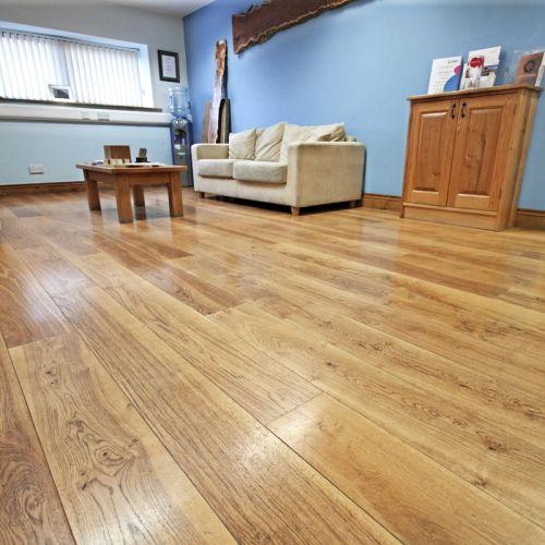 Solid Brown Oak Flooring