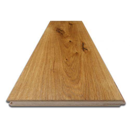 Brushed Engineered Character Oak Flooring - Sample