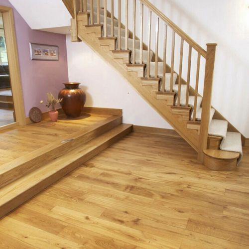 Brushed Engineered Character Oak Flooring
