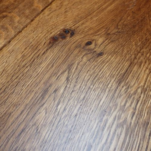 Fumed Engineered Classic Oak Flooring 20mm - Sample