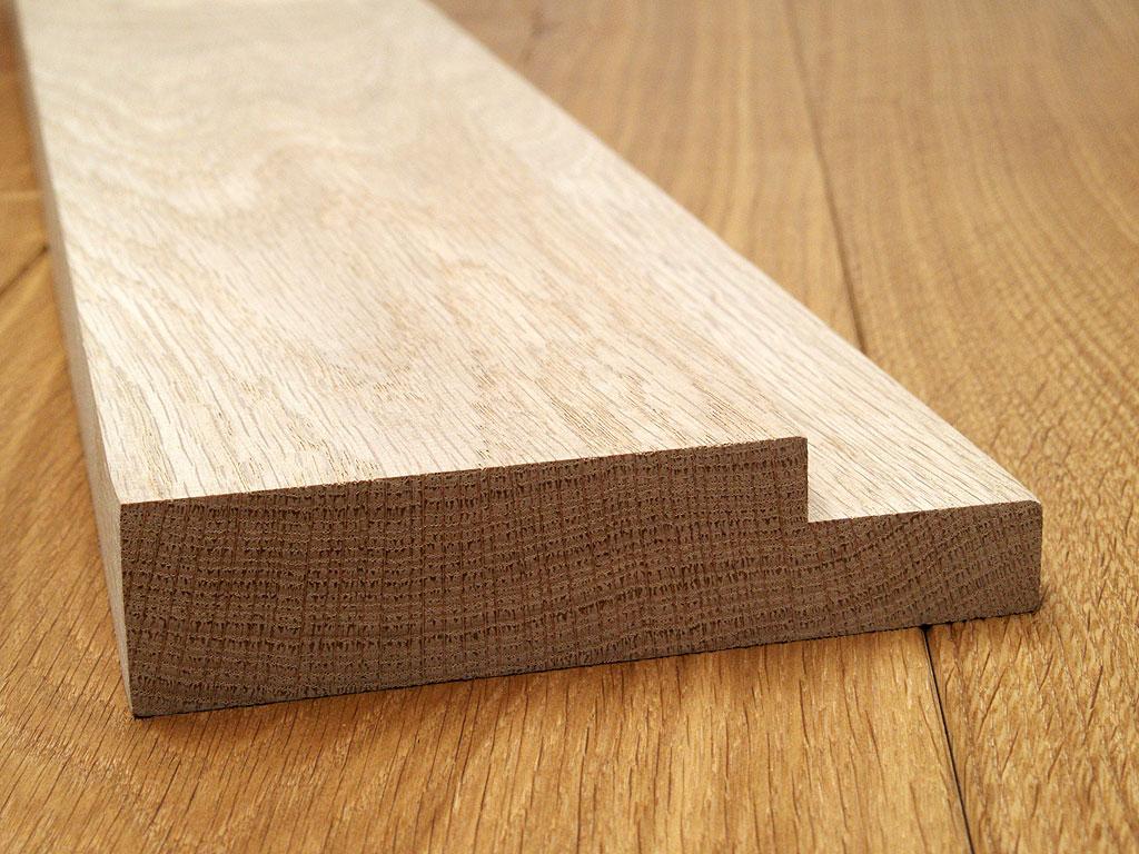 Internal Oak Door Lining Rebate 133mm X 32mm