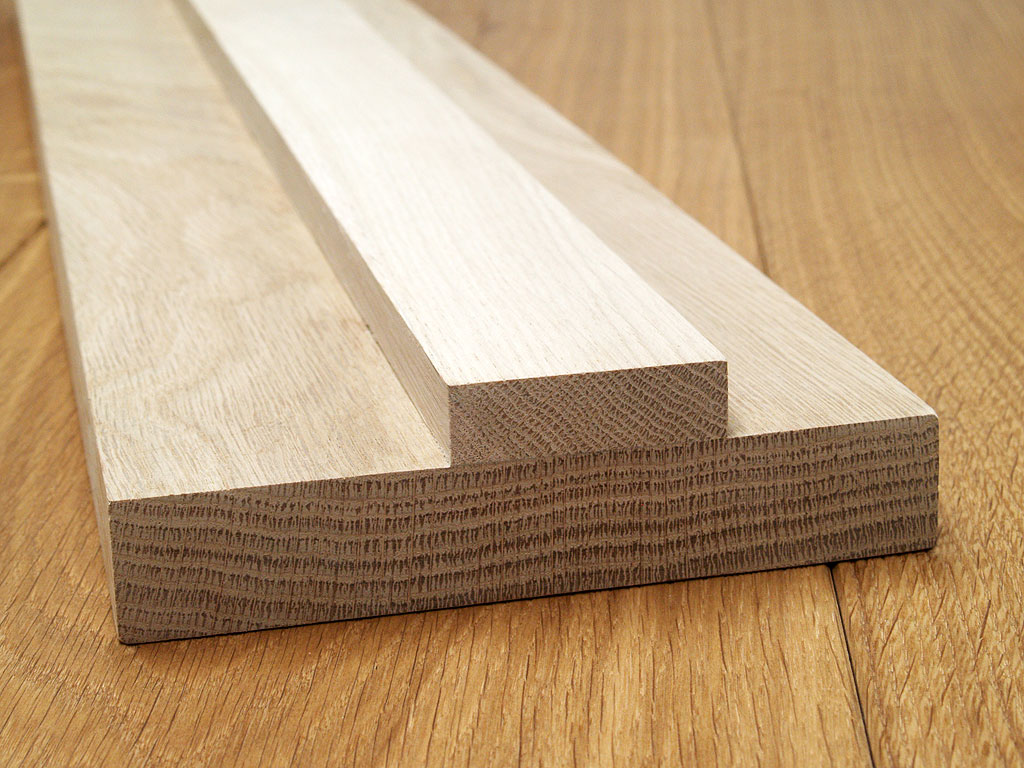 & Internal Oak Door Lining (Square) 133mm x 20mm