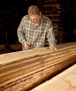 Rough Sawn Hardwood Timber
