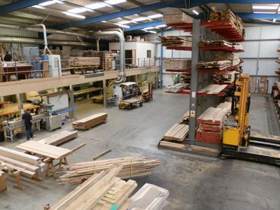 My week of work experience at British Hardwoods - George Plumbridge