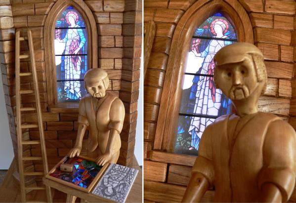 Showcasing Anthony Griffiths - Wood Carver