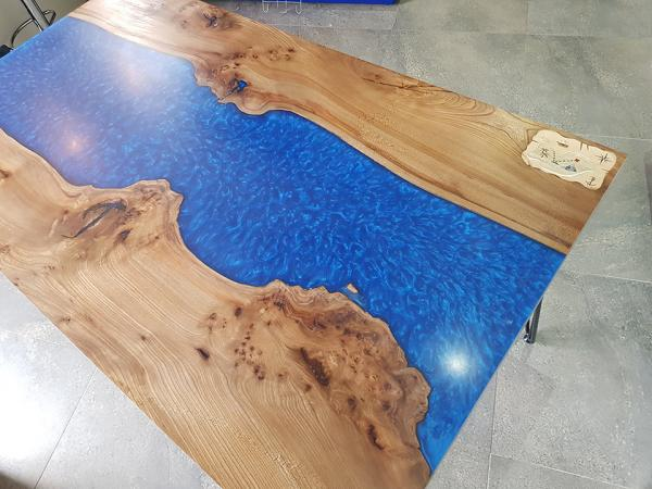 Resin River Tables - Two Customer Projects