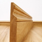 Victoriana Solid Oak Skirting Board