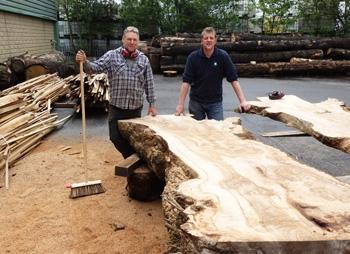 native hardwood timber
