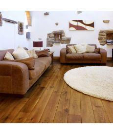 Fumed Antique Wave Flooring