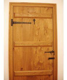 Internal Solid Oak Door Battened Kit