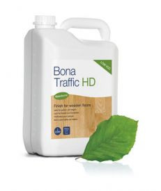 Bona Traffic HD 5L Silkmatt Lacquer with leaf