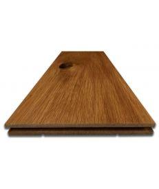 Fumed Character Oak Flooring - Sample