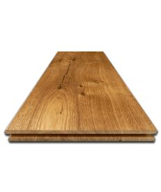 Brushed Character Oak Flooring - Sample