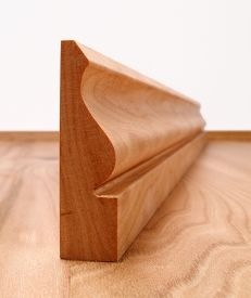 Solid Cherry Ogee Architrave Set