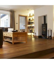 Fumed Classic Grade Oak Flooring