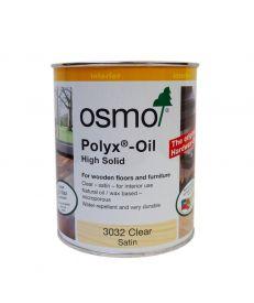 Osmo Polyx Hardwax Oil 3032 Satin Clear 750ml
